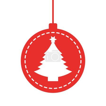 Decorative Christmas ball hanging
