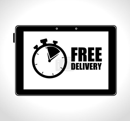 tablet technology free delivery time