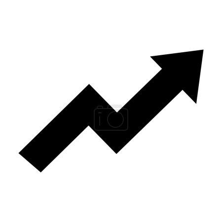 arrow growth graphic icon