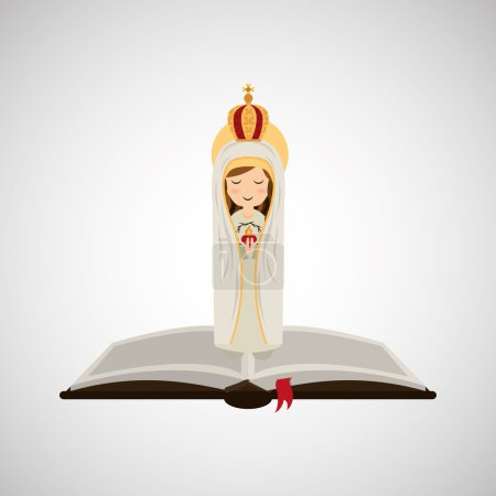 religion catolic virgin mary immaculate haert bible design