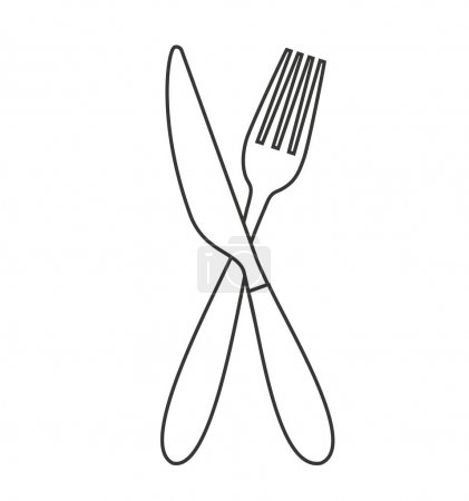 cutlery tools isolated icon