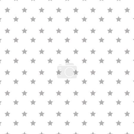 Illustration for Stars pattern background icon vector illustration design - Royalty Free Image