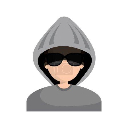 hacker character avatar icon