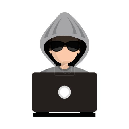 hacker character avatar icon