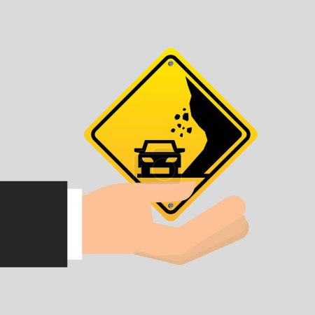 road sing caution icon