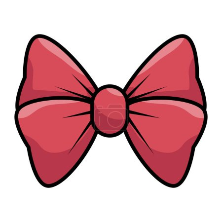 Illustration for Bow cute female icon vector illustration design - Royalty Free Image