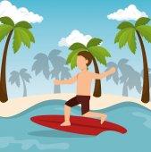 boy surfing water sport extreme