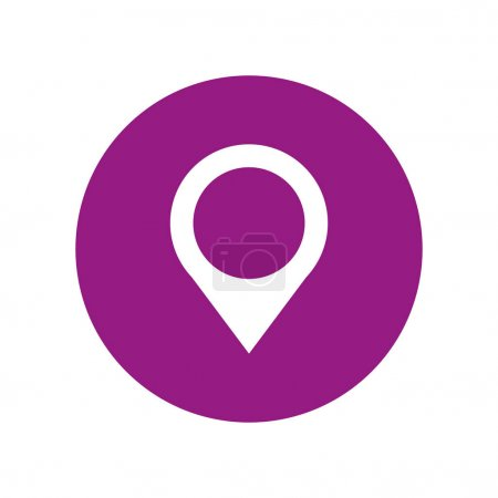 Pin pointer location icon vector illustration desi...