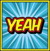 comic yeah design