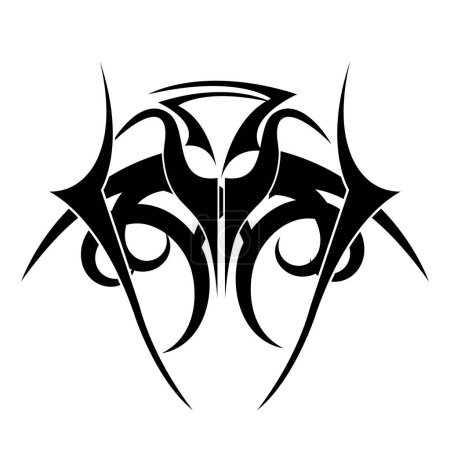 tribal ethnic tatto icon