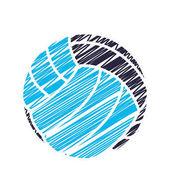 Volleyball-Sport-Emblem-Symbol