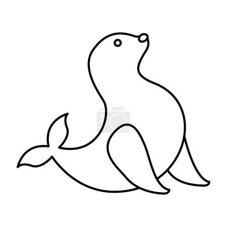 seal circus entertainment icon