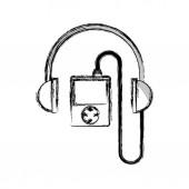 Hudební přehrávač mp3 ikona