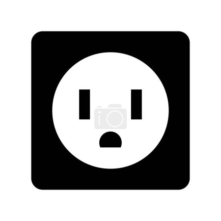 Illustration for Socket energy isolated icon vector illustration design - Royalty Free Image