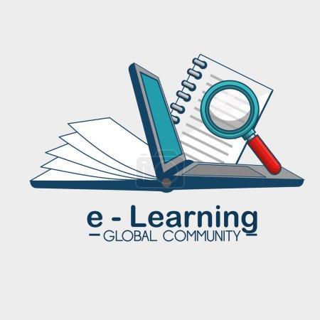 E-learning global community