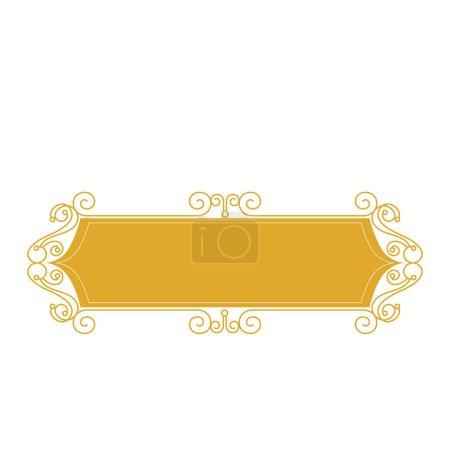 elegant victorian frame icon