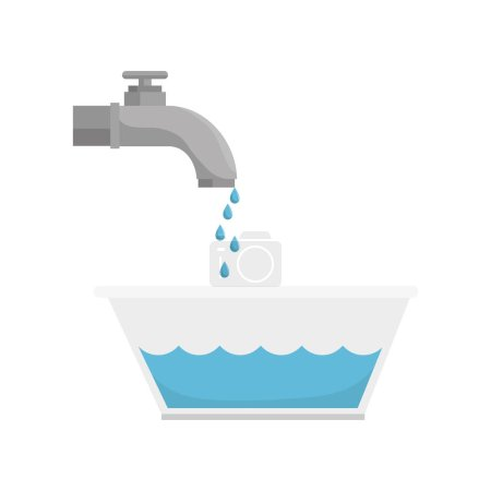 tap water with pot