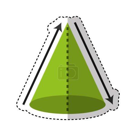triangle figure geometric icon