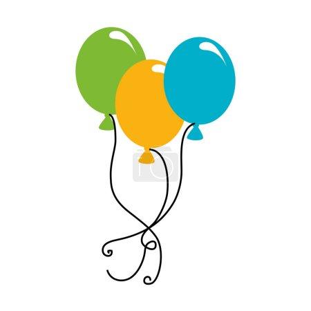 balloons air party icon