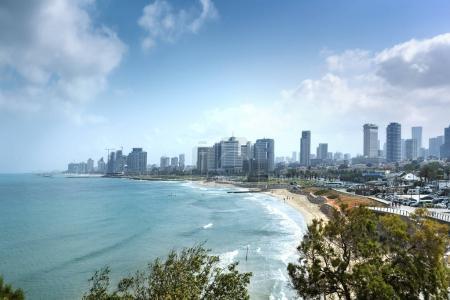 Waterfront views of Tel Aviv