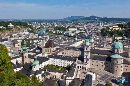 Old city of Salzburg