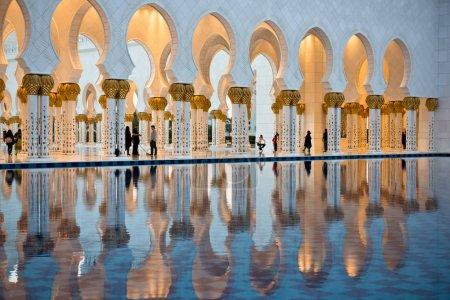 Sheikh Zayed White Mosque in Abu Dhabi