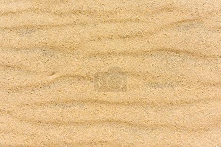 Photo pour Vue de dessus d'un fond de sable de mer pour le fond et texture - image libre de droit