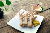 Chicken feet a kind of Chinese food