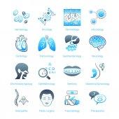 Hospital icons || MARINE series