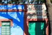 The Frida Kahlo Museum  at Coyoacan in Mexico City