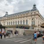 PARIS,FRANCE - AUGUST 1,2017 : Street scene includ...
