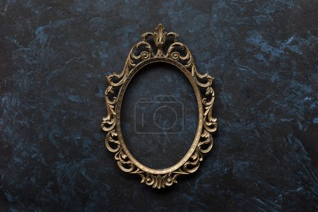 Metal oval frame