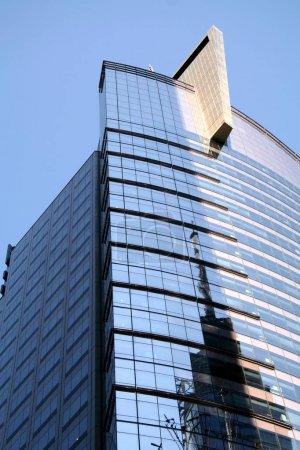 Photo pour Bâtiment en verre de New York - image libre de droit