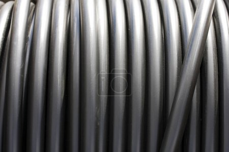 Construction Material - Roll of Metal Tubes
