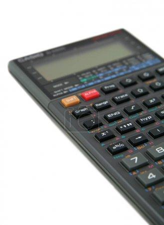 Advanced Scientific Calculator Isolated on White Background