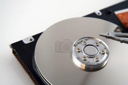 Photo pour Disque dur d'ordinateur ouvert avec disques exposés - image libre de droit