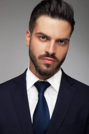 serious young business man