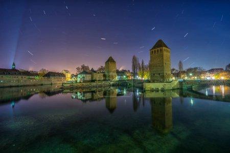 Strasbourg, medieval bridge Ponts Couverts