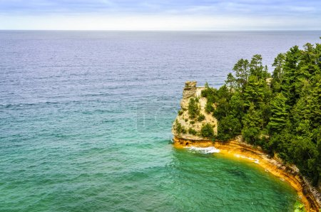 Scenic view of Miners Castle