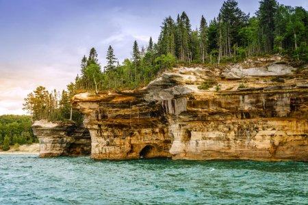 Battleship Rocks formations