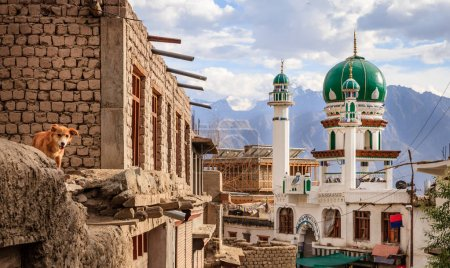 A mosque in the city of Leh