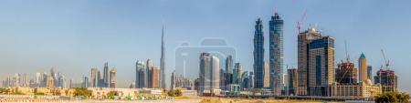 Dubais downtown skyline