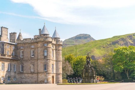 Photo for Holyrood house palace in edinburgh - Royalty Free Image