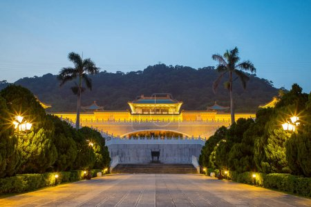 Taipei National Palace Museum in Taiwan