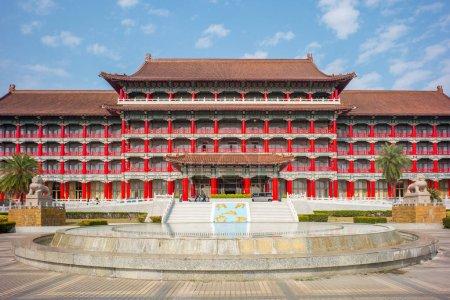 Famous landmark named grand hotel