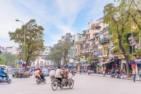 street view of Hanoi