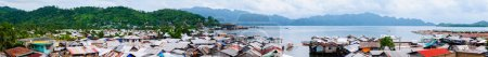 Coron town on Busuanga island, Philippines...
