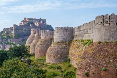 kumbhalgarh fort and wall