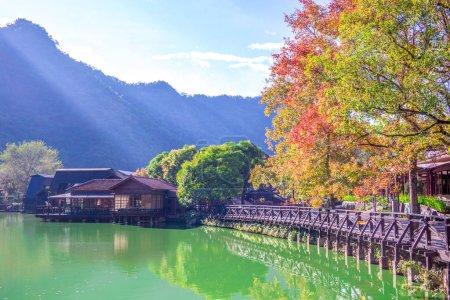 landscape of checheng, nantou, taiwan