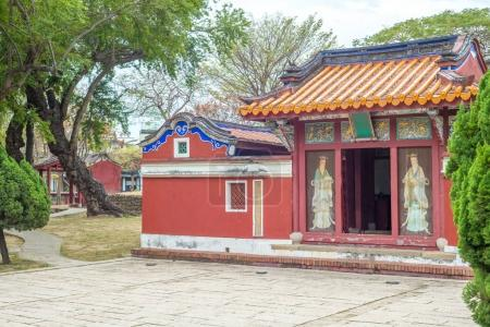 Temple of Five Concubines in Tainan, Taiwan